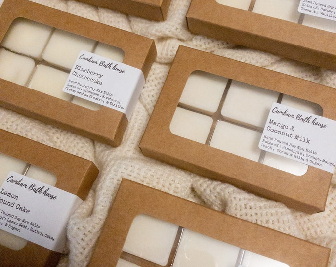 Premium Hand Poured Soy wax melts