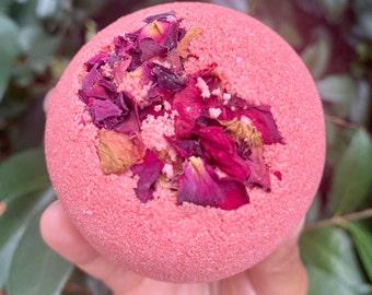 Jasmine Rose handcrafted Bath bomb