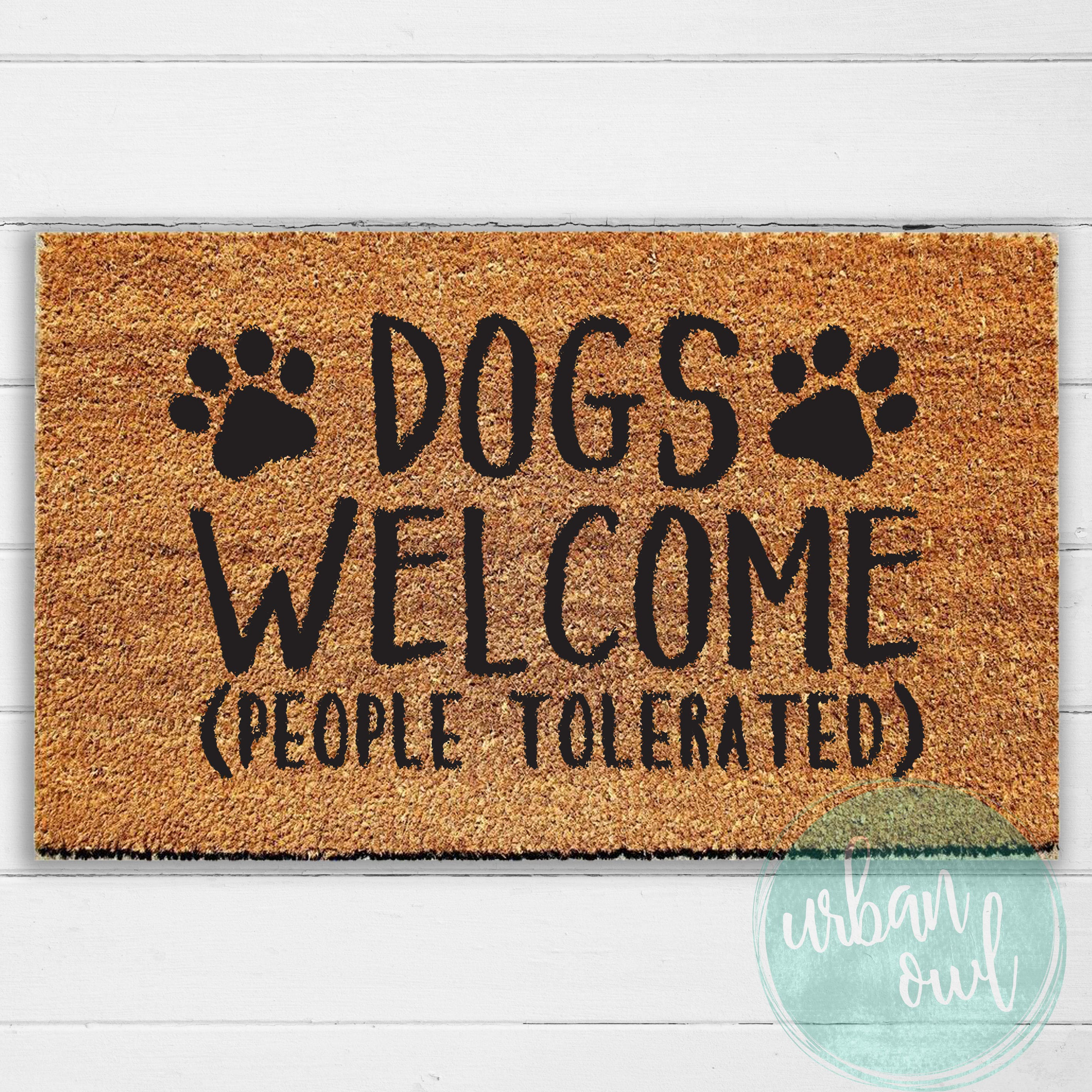 you have m better donuts welcome doormat mat