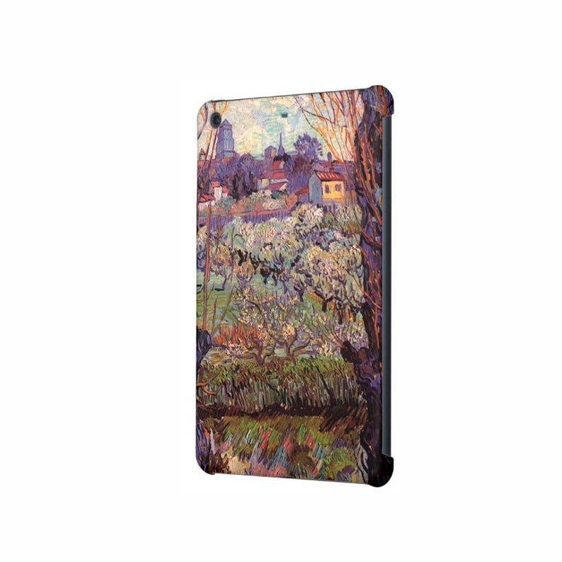 iPad case iPad Mini 4 case iPad Air case iPad Mini 3 case Mini 2 iPad Air 2 case iPad Pro 9.7 case iPad Pro 12.9 art hard case Van Gogh