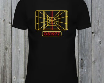 cdbb2281e X-Wing Stay On Target T-Shirt
