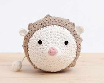 crochet animal, music box, //LINO//