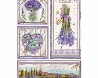 Rice Paper for Decoupage Scrapbook Craft Sheet Hydrangea Multicolor