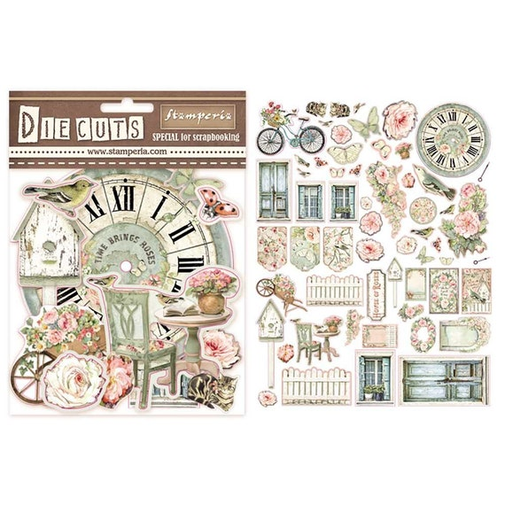 NEW Stamperia Die Cuts Little Girl