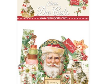 NEW Classic Christmas Acetate Pieces - Assorted Acetate Pieces - Classic Christmas Collection - Christmas Acetate Pieces - 23-911