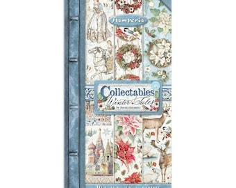 NEW 6x12 Collectibles Winter Tales - Double Sided Paper - 6x12 Paper - Winter Tales Collection - Winter Tales - Winter Paper - 23-898