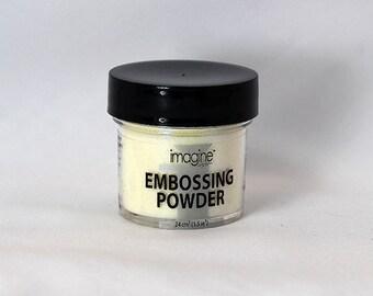 Iridescent Embossing Powder - Embossing Powder - White Embossing Powder - Emboss Powder - White Emboss Powder - White Embellishment - 11-002