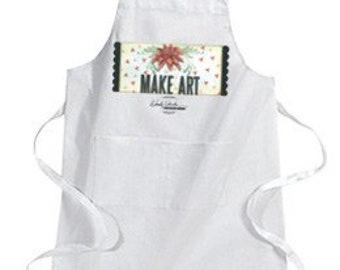 Wendy Vecchi Canvas Apron - Canvas Apron - Apron with Pockets - Wendy Vecchi - Wendy Vecchi Art - Wendy Vecchi Signature Apron - 17-242