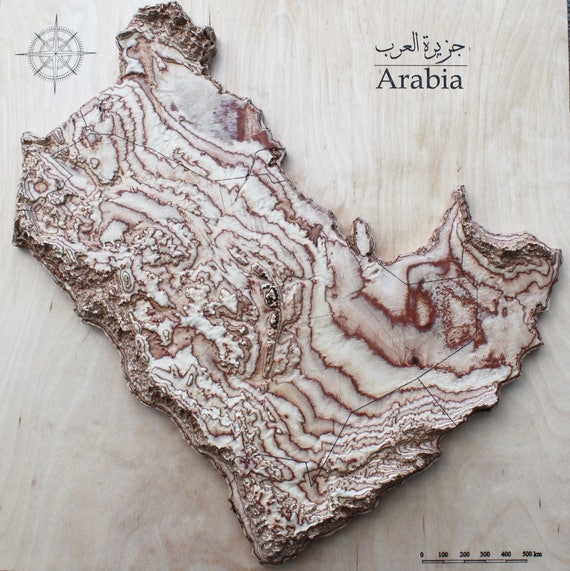 Map of Arabian Peninsula 20