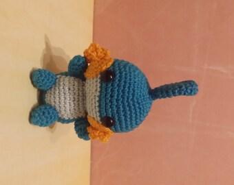 Pokemon Amigurumi Hydropi/Mudkip ready to ship