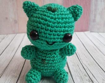 Pokemon Amigurumi Bisasam Bulbasaur Amigurumi versandfertig / ready to ship