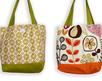 Flashback Floral Tote Bag
