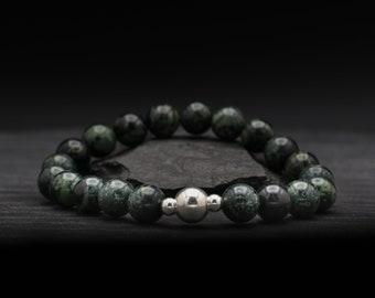 Kambaba Jasper Beaded Bracelet