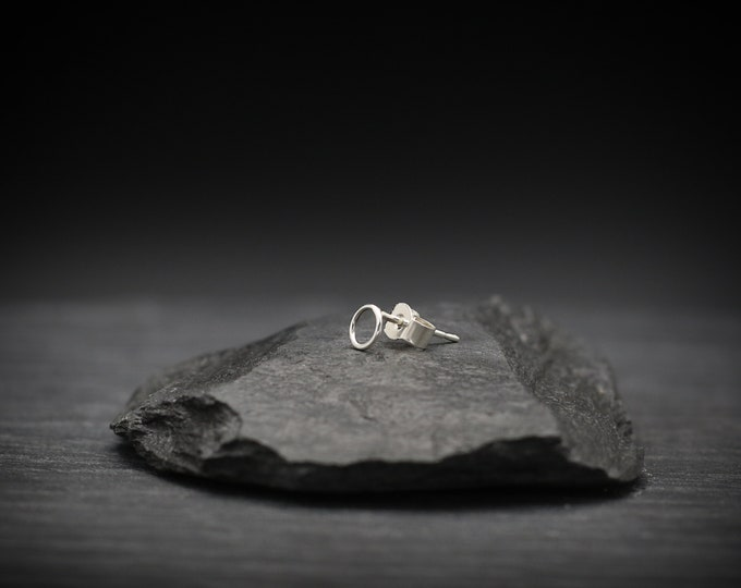 Small Open Circle Earring