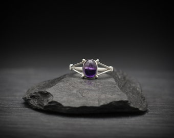 Amethyst x Sterling Silver Ring