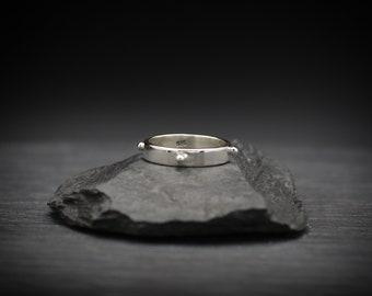 Granulation Sterling Silver Bead Ring