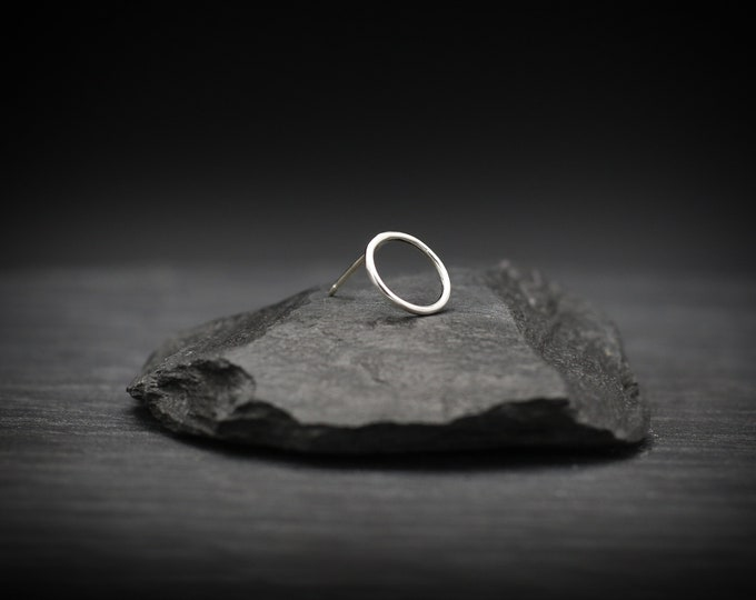 Open Circle Earring