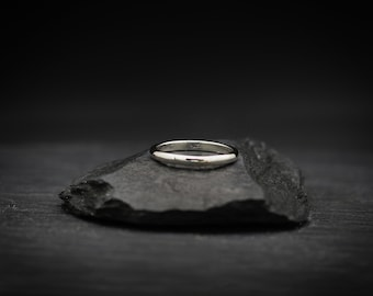 Thin Sterling Silver Band