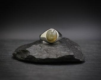 Labradorite x Sterling Silver Ring