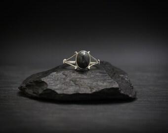Picasso Jasper x Sterling Silver Ring
