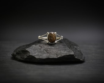 Picture Jasper x Sterling Silver Ring