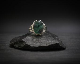 Fluorite x Sterling Silver Ring