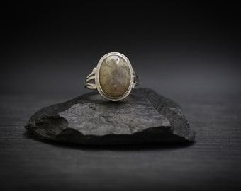 Crazy Lace Agate x Sterling Silver Ring