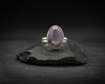 Amethyst x Sterling Silver Ring
