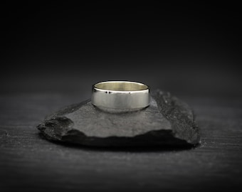 Rectangle Sterling Silver Band