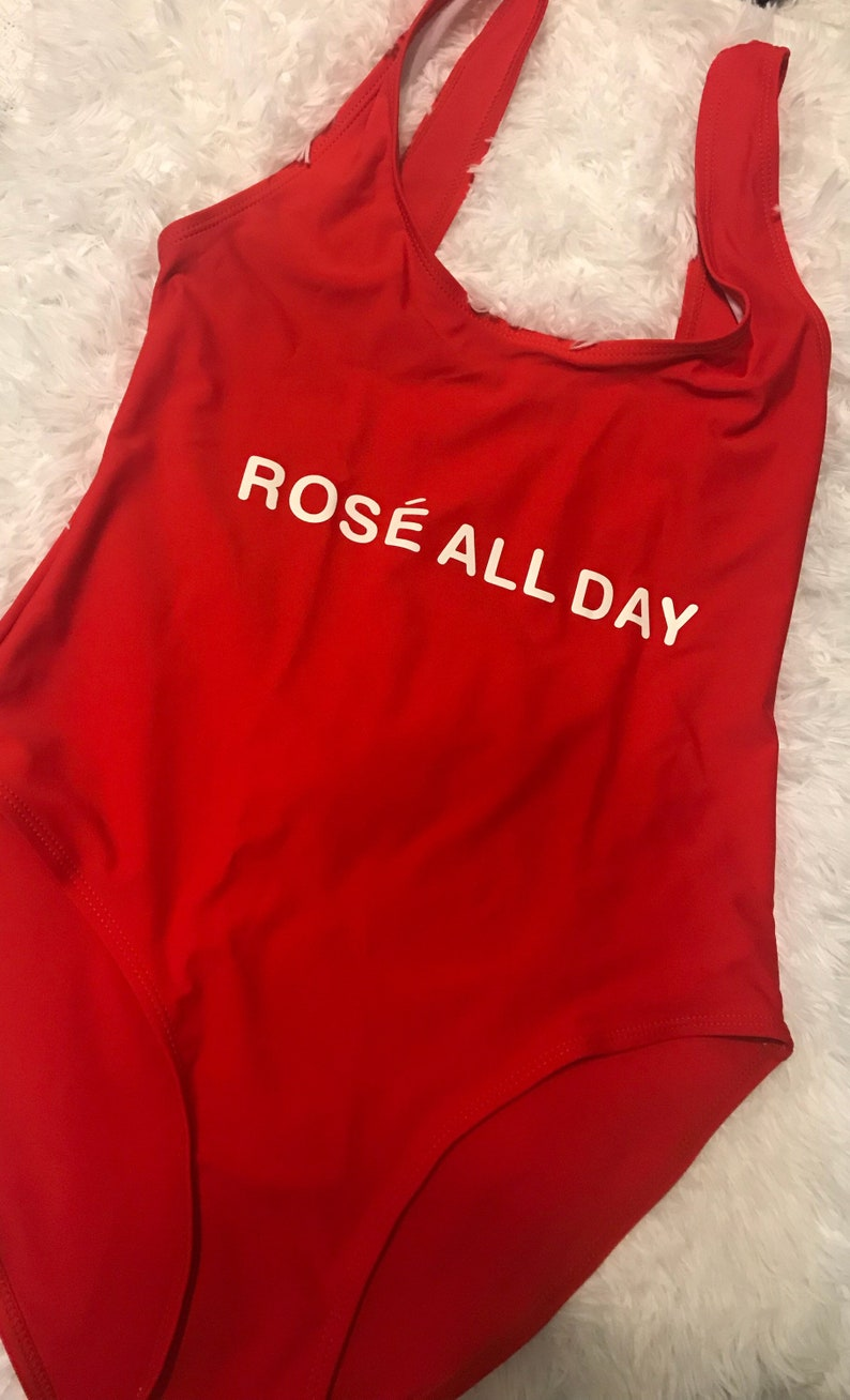 b08945c0fe Rose All Day Ladies Swimsuit Swimwear One-Piece Bathing Suit | Etsy