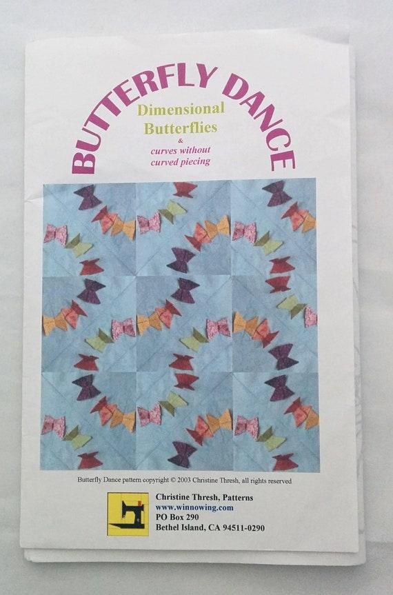Erfly Box Template | Quilt Kit Butterfly Dancedimensional Butterflies Etsy