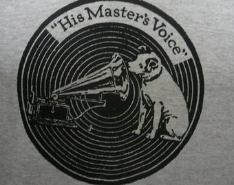 HIS MASTER'S VOICE t shirt