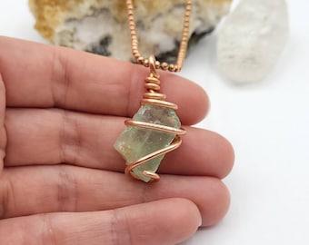 Yellow Calcite Necklace   NCK-0007