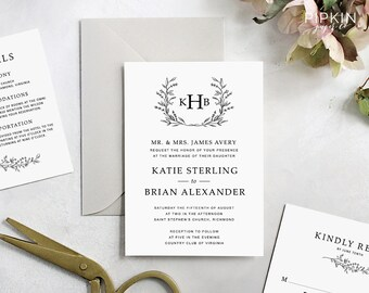 free rsvp template etsy