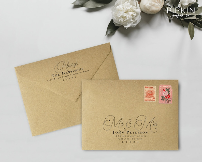 image about Printable Envelope Address Template titled Printable Envelope Deal with Template Calligraphy Deal with Template  Wedding ceremony Envelope Protect Template Addressing Template Hillary