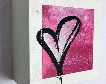 Valentine Original Artwork on Panel