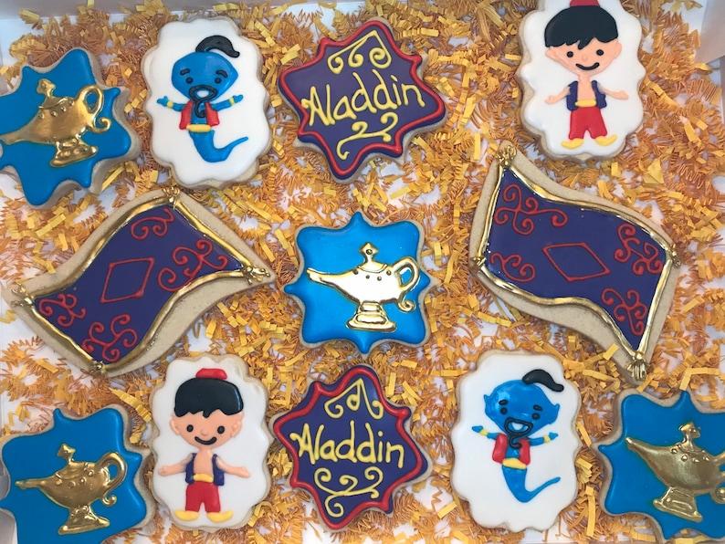 Disney Aladdin Cookies