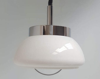 Space age Pendant Light Italian perfect condition, retro hanging lamp