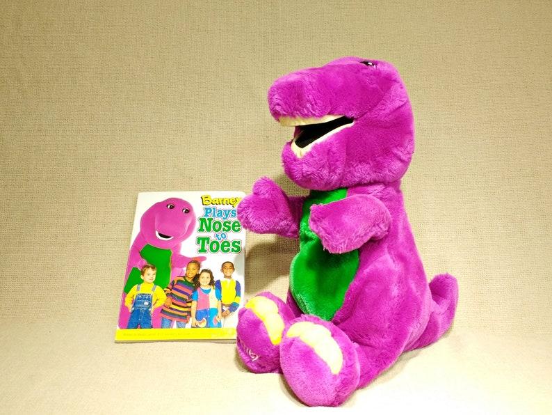 "Barney The Dinosaur 15/"" Inches Plush"