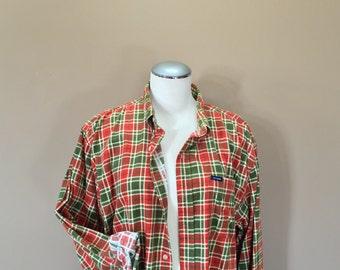 ad14fa0e4131 Flannel Shirt / Oversized Grunge Flannel / 90s Flannel / Oversized Flannel  / 90s clothing
