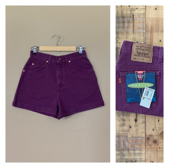 "28"" Levis Shorts High Waisted Denim/Levis Shorts/9"
