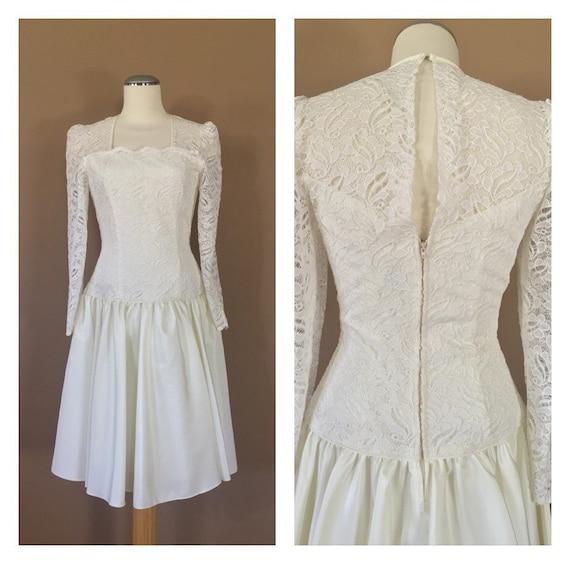 Vintage Wedding Dress Ivory / Vintage Wedding Dres