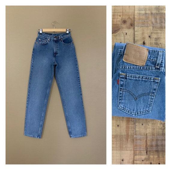 "25""/26"" Levis High Waisted Jeans Straight Leg /90s"