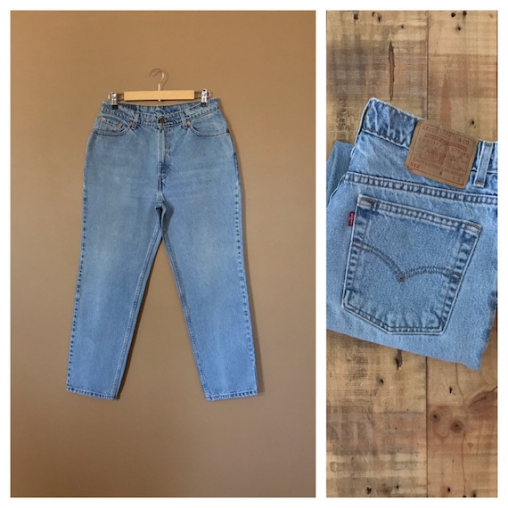 """30/31"""" Levis High Waisted Jeans/512 Jeans/90s Jean"""