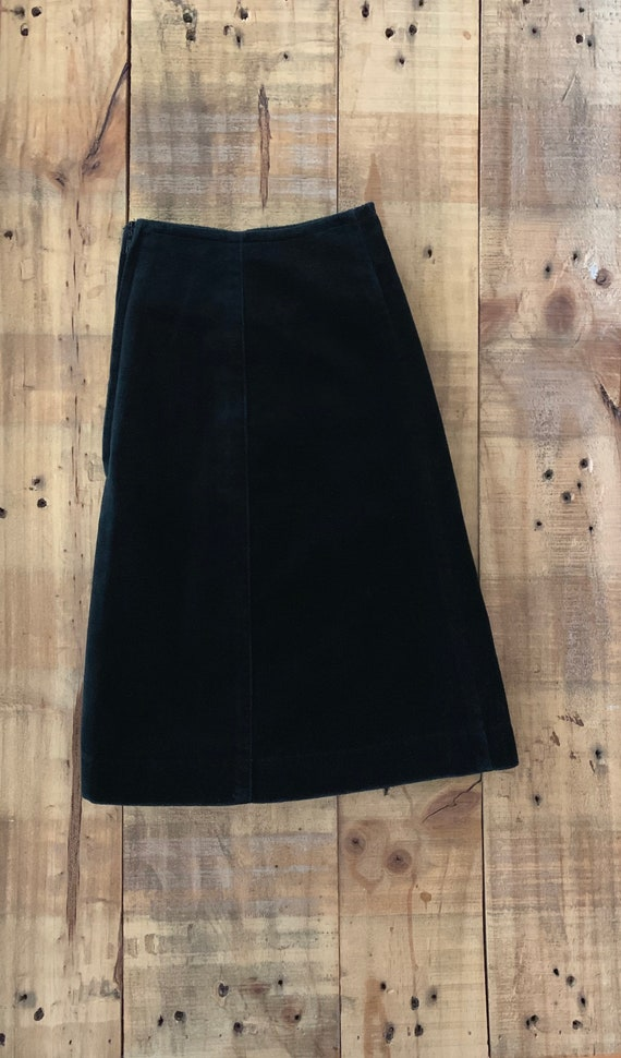 """25"""" Black Guess Skirt High Waisted / 90's Guess V… - image 6"""