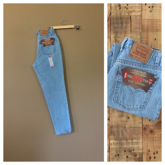 """32"""" Levis 512 High Waisted Jeans/ Levis 550/90s Je"""