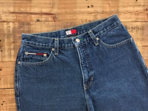 "27"" Tommy Hilfiger High Waisted Jeans / 90s Tommy… - image 3"