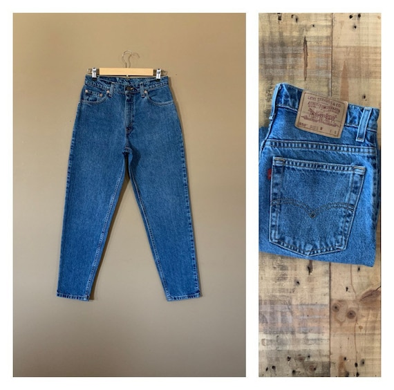 """28/29"""" Levis High Waisted Jeans Tapered / Levis 55"""