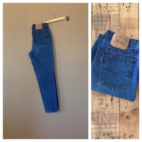 "30"" Levis 512 High Waisted Jeans/Levis 912/90s Jea"