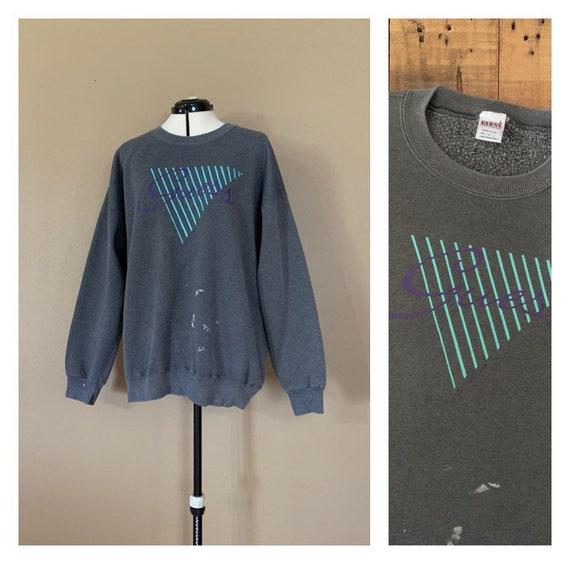90's Guess Oversized Sweatshirt XL / 90s Guess Swe